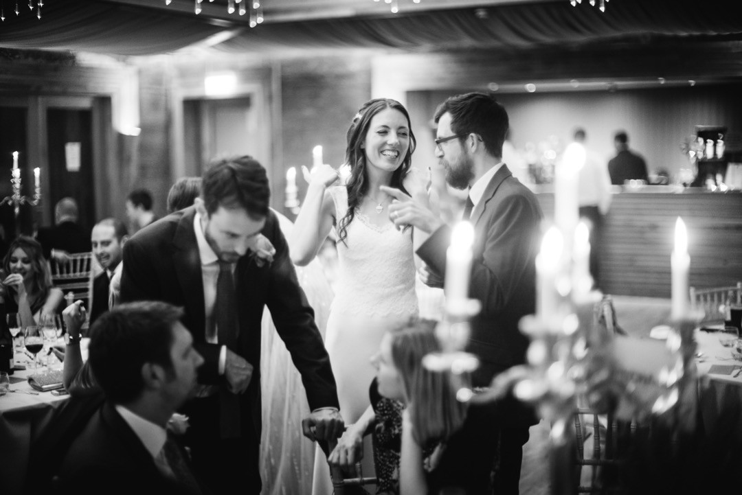 A Happy Bride - I just love it when their happiness shines through, it's contagious.  @elmorecourt